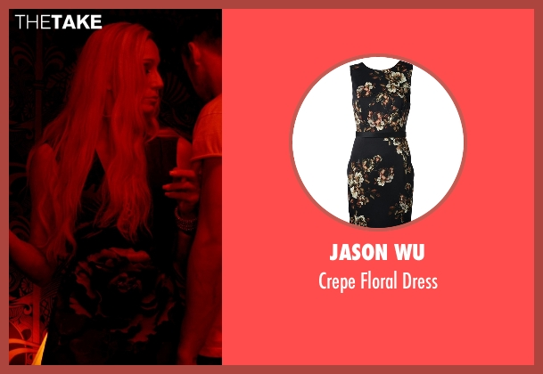 Jason Wu dress from Only God Forgives seen with Kristin Scott Thomas (Crystal)