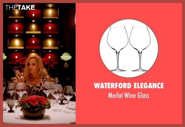 Waterford Elegance glass from Only God Forgives seen with Kristin Scott Thomas (Crystal)