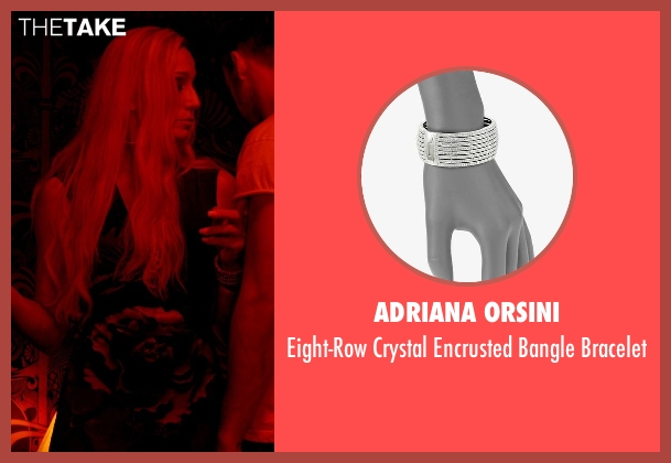 Adriana Orsini silver bracelet from Only God Forgives seen with Kristin Scott Thomas (Crystal)