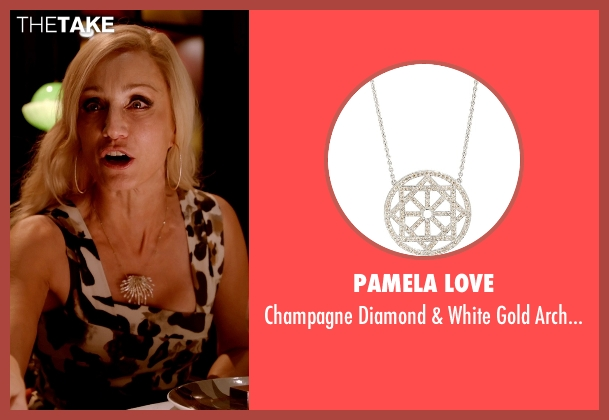 Pamela Love silver necklace from Only God Forgives seen with Kristin Scott Thomas (Crystal)
