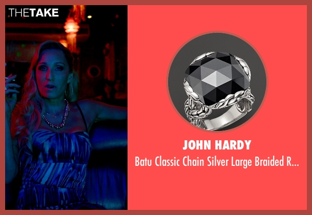 John Hardy silver ring from Only God Forgives seen with Kristin Scott Thomas (Crystal)