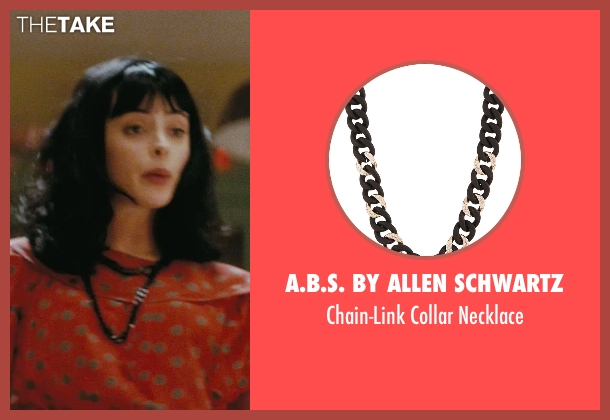 A.B.S. By Allen Schwartz black necklace from Confessions of a Shopaholic seen with Krysten Ritter (Suze)