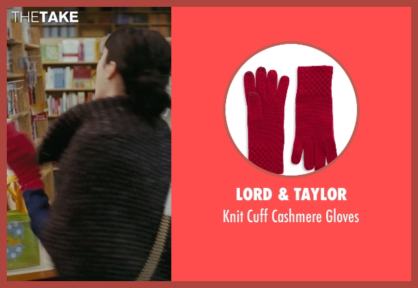 Lord & Taylor red gloves from Confessions of a Shopaholic seen with Krysten Ritter (Suze)