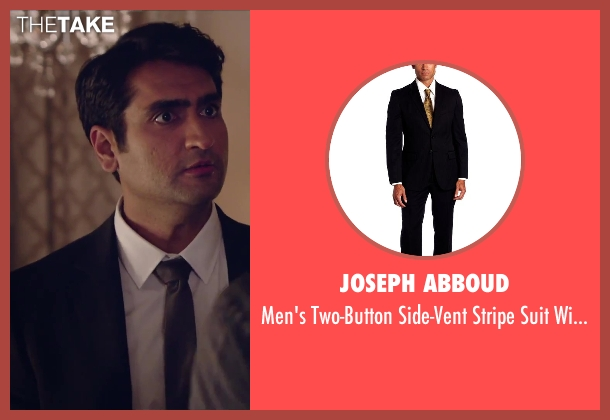 Joseph Abboud black pant from Hot Tub Time Machine 2 seen with Kumail Nanjiani (Unknown Character)