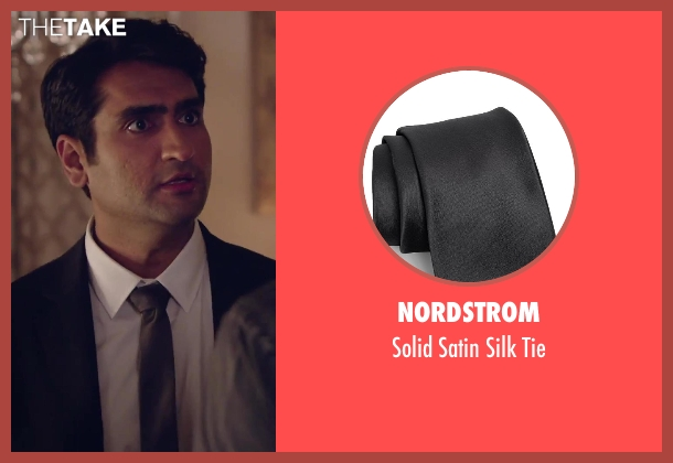 Nordstrom black tie from Hot Tub Time Machine 2 seen with Kumail Nanjiani (Unknown Character)