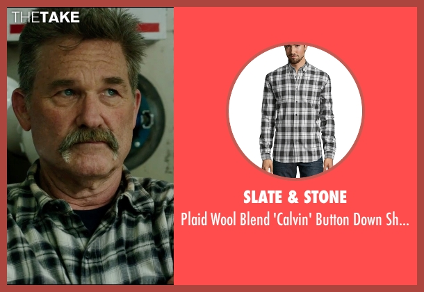 Slate & Stone  black shirt from Deepwater Horizon seen with Kurt Russell (Unknown Character)
