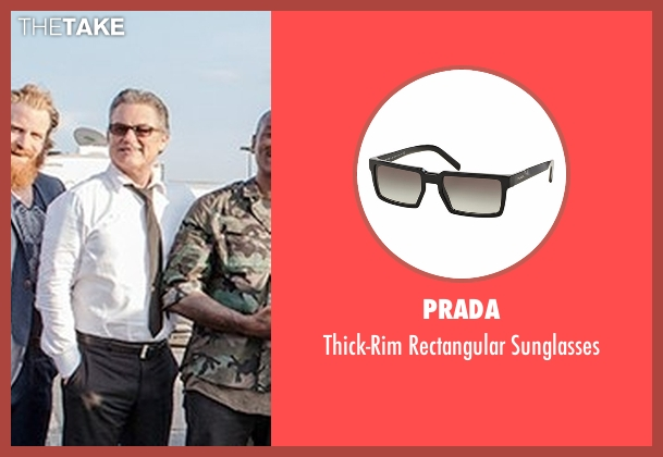Prada black sunglasses from Fast 8 seen with Kurt Russell (Mr. Nobody)