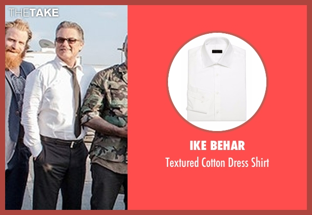 Ike Behar white shirt from The Fate of the Furious seen with Kurt Russell (Mr. Nobody)