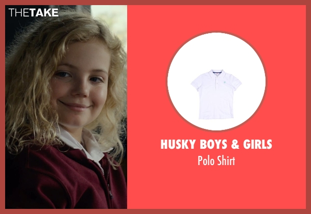 Husky Boys & Girls white shirt from Before I Wake seen with Kyla Deaver (Annie)