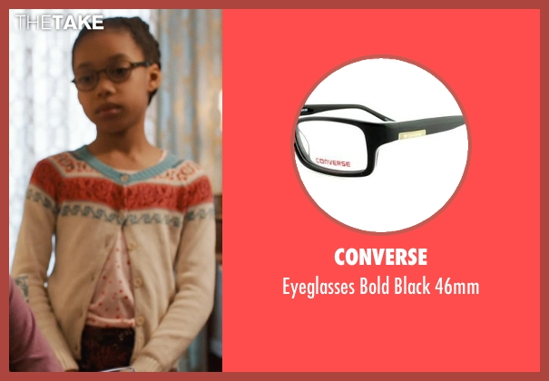 Converse black 46mm from Prisoners seen with Kyla Drew Simmons (Joy Birch)