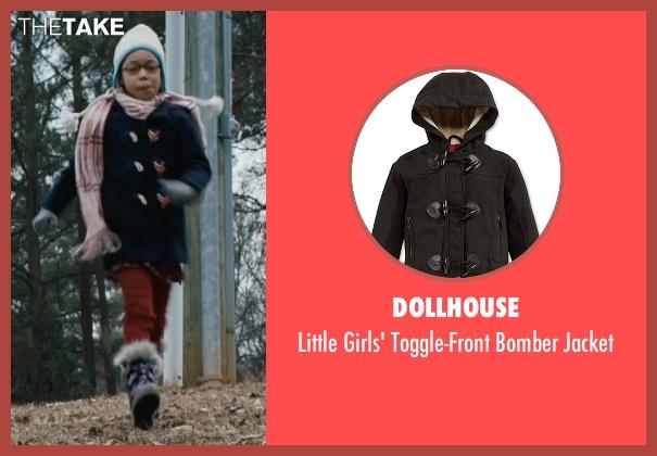 Dollhouse black jacket from Prisoners seen with Kyla Drew Simmons (Joy Birch)