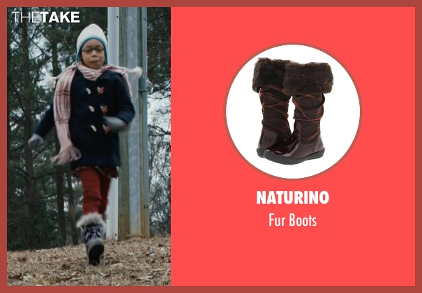 Naturino brown boots from Prisoners seen with Kyla Drew Simmons (Joy Birch)