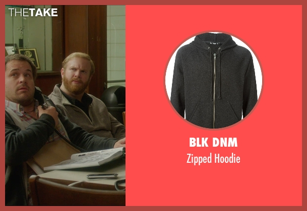 BLK DNM gray hoodie from The D Train seen with Kyle Bornheimer (Randy)