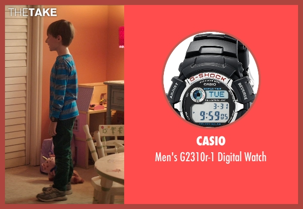 Casio black watch from Poltergeist seen with Kyle Catlett (Griffin Bowen)