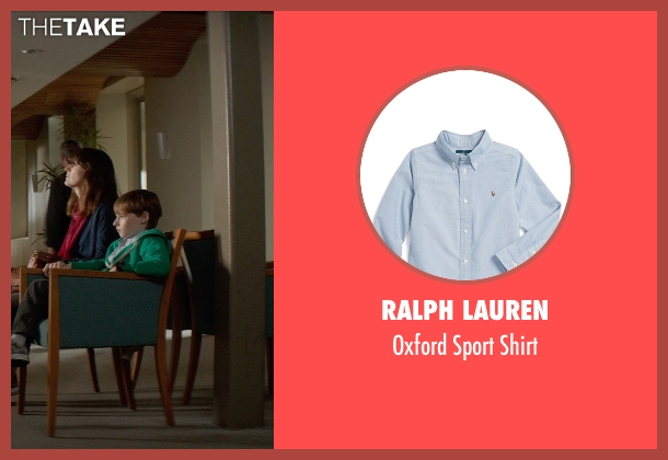 Ralph Lauren blue shirt from Poltergeist seen with Kyle Catlett (Griffin Bowen)