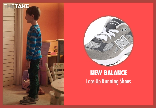 New Balance gray shoes from Poltergeist seen with Kyle Catlett (Griffin Bowen)