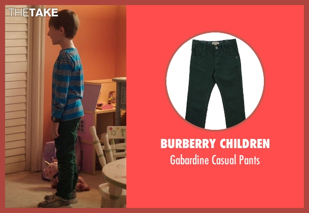 Burberry Children green pants from Poltergeist seen with Kyle Catlett (Griffin Bowen)