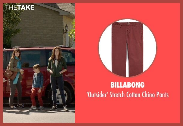 Billabong red pants from Poltergeist seen with Kyle Catlett (Griffin Bowen)