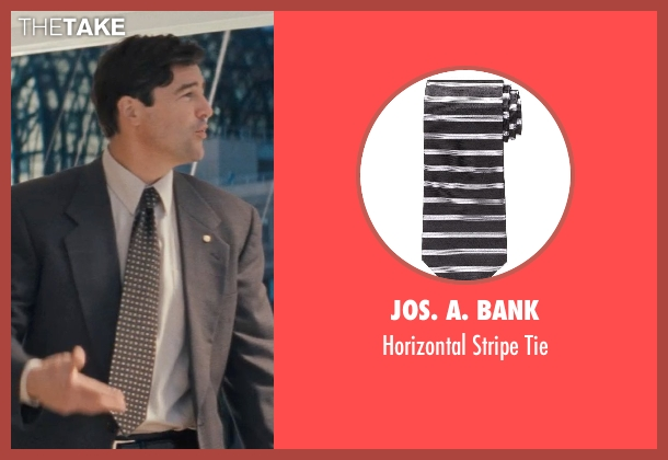 Jos. A. Bank black tie from The Wolf of Wall Street seen with Kyle Chandler (Agent Patrick Denham)