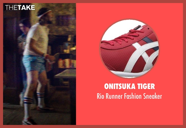 Onitsuka Tiger red sneaker from Neighbors seen with Kyle Newacheck (Beer Pong Guy #4)