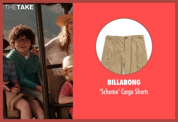 Billabong shorts from Blended seen with Kyle Red Silverstein (Tyler Reynolds)