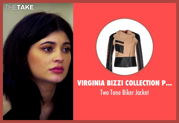 Virginia Bizzi Collection Privee beige jacket from Keeping Up With The Kardashians seen with Kylie Jenner