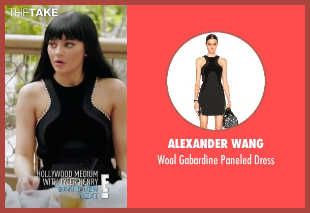 Alexander Wang black dress from Keeping Up With The Kardashians seen with Kylie Jenner
