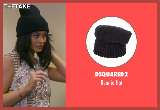 Dsquared2 black hat from Keeping Up With The Kardashians seen with Kylie Jenner
