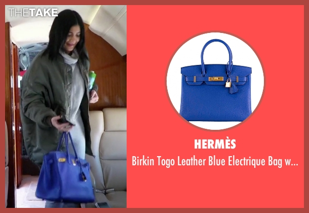 Hermès  blue hardware from Keeping Up With The Kardashians seen with Kylie Jenner