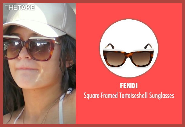 Fendi brown sunglasses from Keeping Up With The Kardashians seen with Kylie Jenner