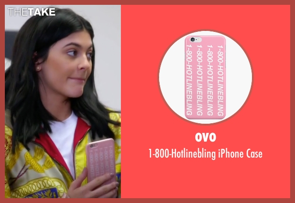 Ovo case from Keeping Up With The Kardashians seen with Kylie Jenner
