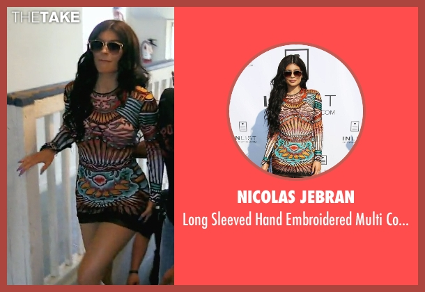 Nicolas Jebran dress from Keeping Up With The Kardashians seen with Kylie Jenner