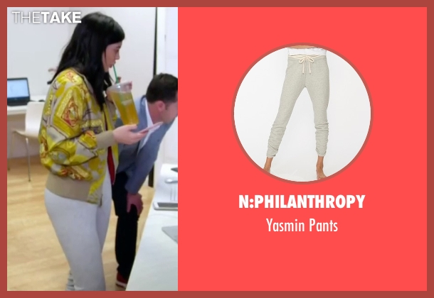 N:Philanthropy gray pants from Keeping Up With The Kardashians seen with Kylie Jenner
