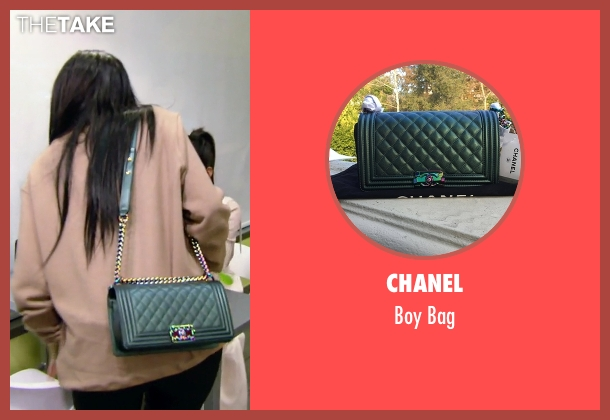 Chanel green bag from Keeping Up With The Kardashians seen with Kylie Jenner