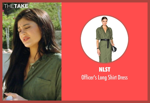 NLST  green dress from Keeping Up With The Kardashians seen with Kylie Jenner