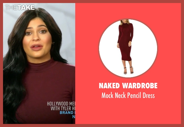 Naked Wardrobe  red dress from Keeping Up With The Kardashians seen with Kylie Jenner