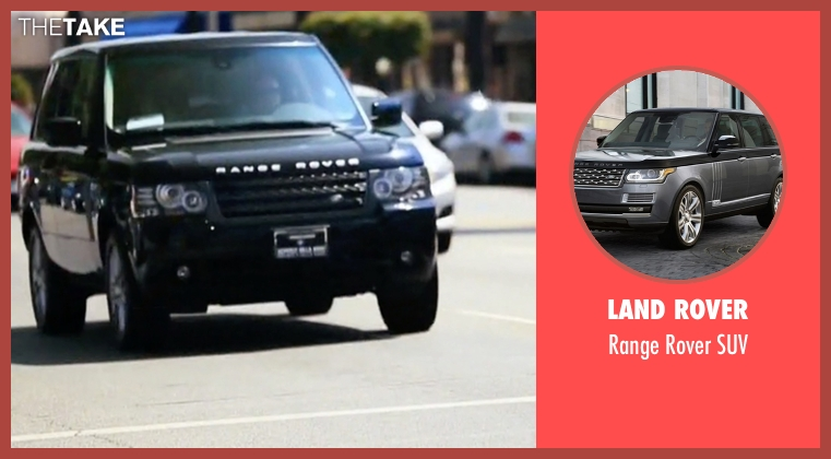 Land Rover suv from Keeping Up With The Kardashians seen with Kylie Jenner