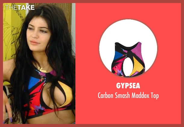 Gypsea top from Keeping Up With The Kardashians seen with Kylie Jenner