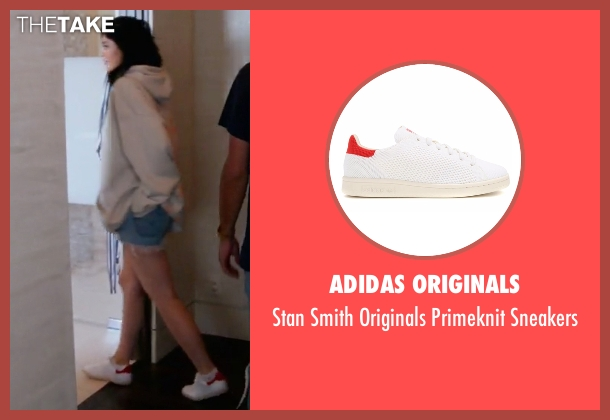 Adidas Originals white sneakers from Keeping Up With The Kardashians seen with Kylie Jenner
