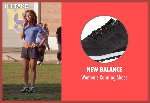 New Balance black shoes from Mean Girls seen with Lacey Chabert (Gretchen Wieners)