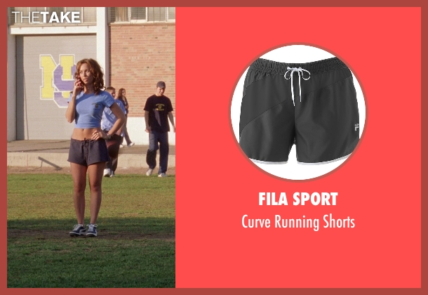 Fila Sport black shorts from Mean Girls seen with Lacey Chabert (Gretchen Wieners)