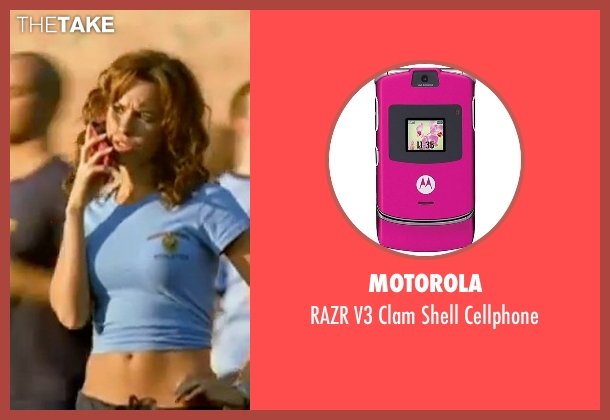 Motorola cellphone from Mean Girls seen with Lacey Chabert (Gretchen Wieners)