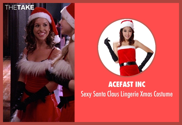 Acefast Inc costume from Mean Girls seen with Lacey Chabert (Gretchen Wieners)