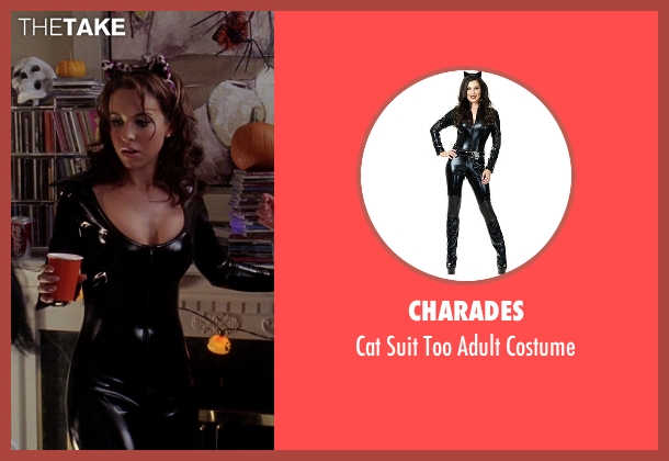 Charades costume from Mean Girls seen with Lacey Chabert (Gretchen Wieners)