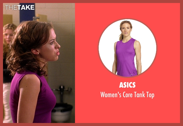Asics purple top from Mean Girls seen with Lacey Chabert (Gretchen Wieners)