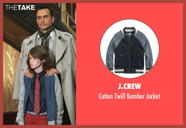 J.Crew blue jacket from American Horror Story seen with Lachlan Drake (Lyric Angel)