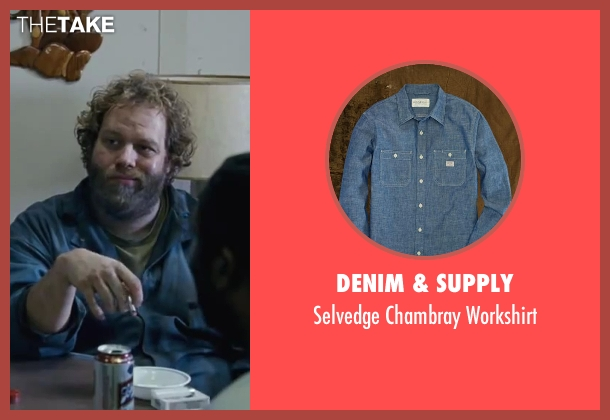 Denim & Supply blue workshirt from Contraband seen with Ólafur Darri Ólafsson (Olaf)