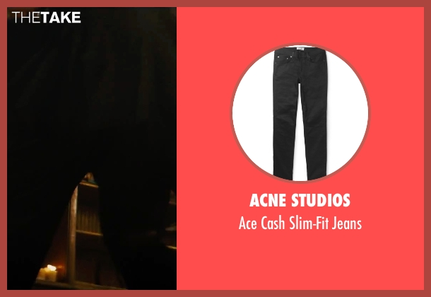 Acne Studios black jeans from The Last Witch Hunter seen with Ólafur Darri Ólafsson (Belial)