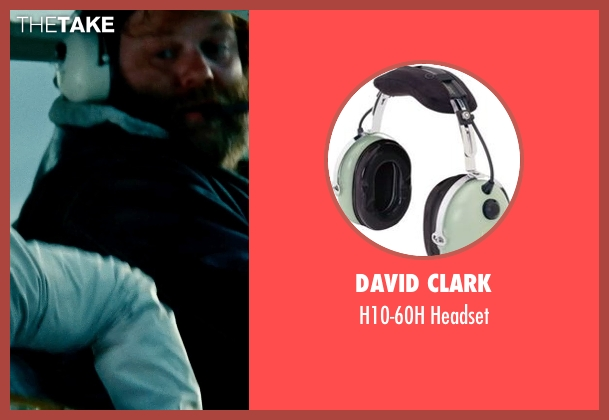 David Clark headset from The Secret Life of Walter Mitty seen with Ólafur Darri Ólafsson (Helicopter Pilot)