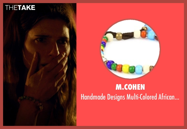 M.Cohen bracelet from No Escape seen with Lake Bell (Annie Dwyer)